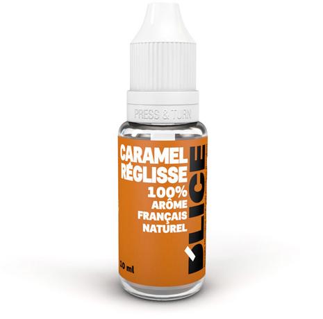 E-liquide Caramel réglisse