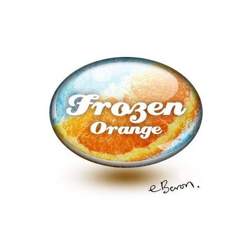 E liquide Frozen Orange (eBaron Lab)
