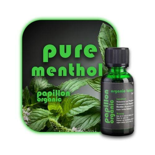 E liquide Organic Pure Menthol (Papillon Organic)
