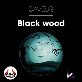 E liquide Black Wood