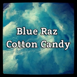 E liquide Blue Raz Cotton Candy