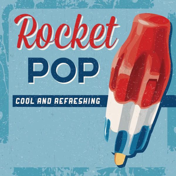 E liquide Rocket Pop