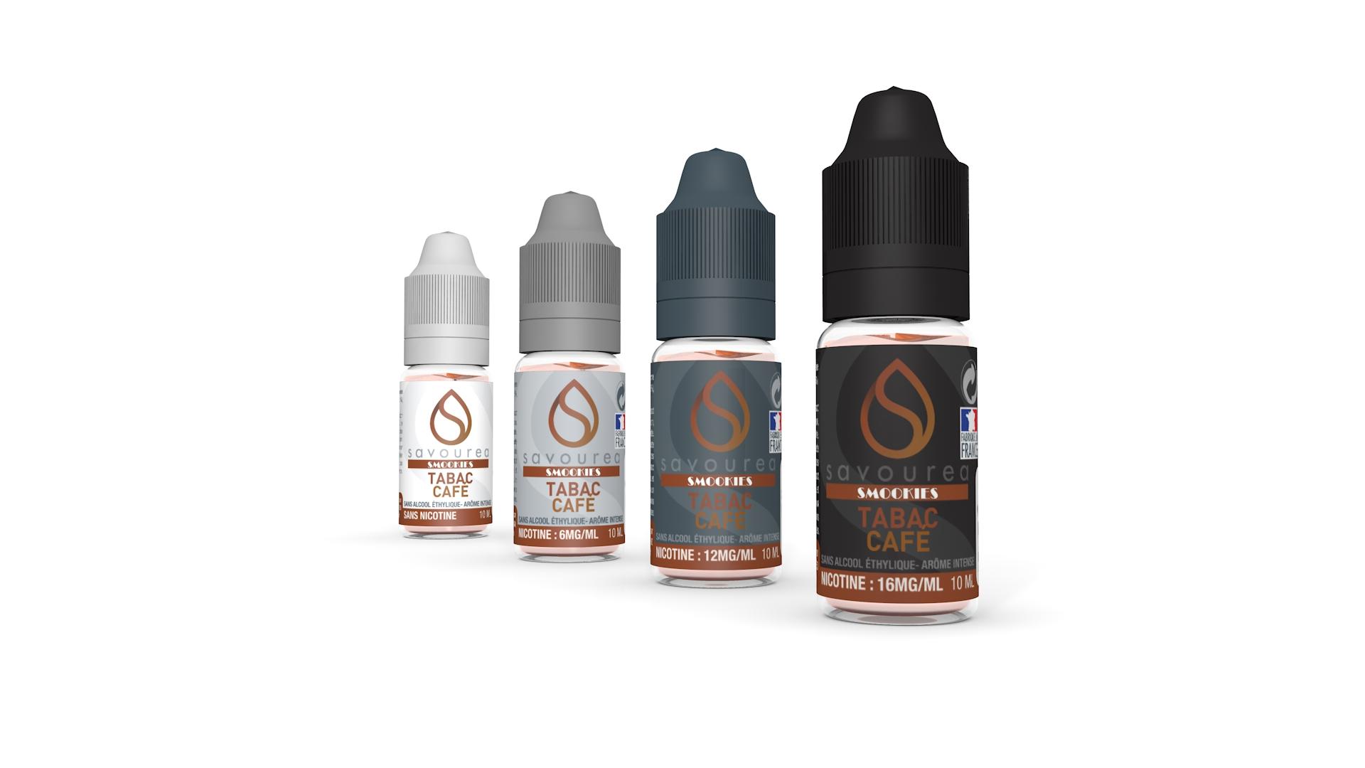 E liquide Tabac Café