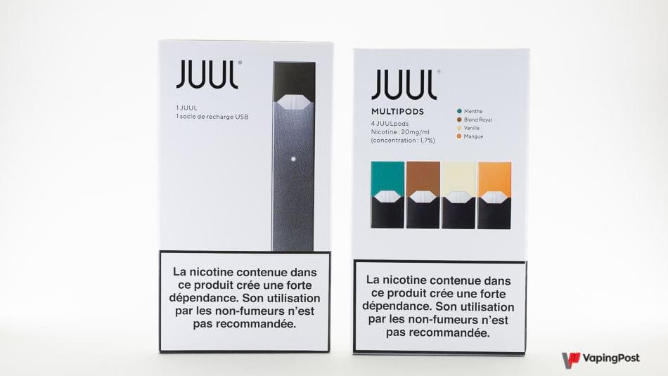 Pod Juul de Juul Labs France : le test complet !