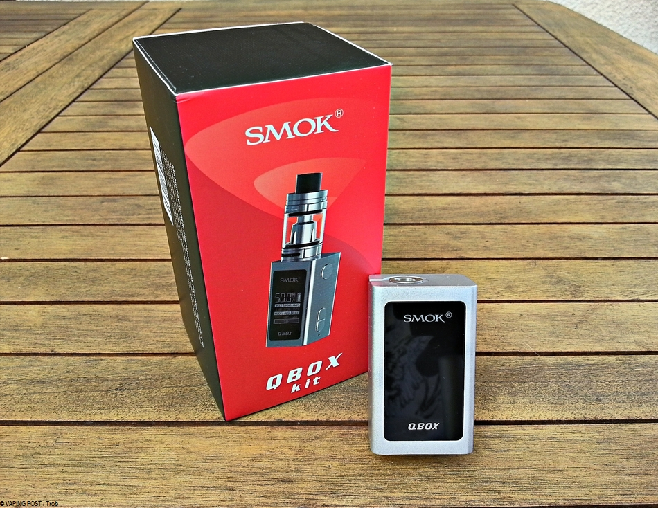 QBox - Smoktech : le test complet