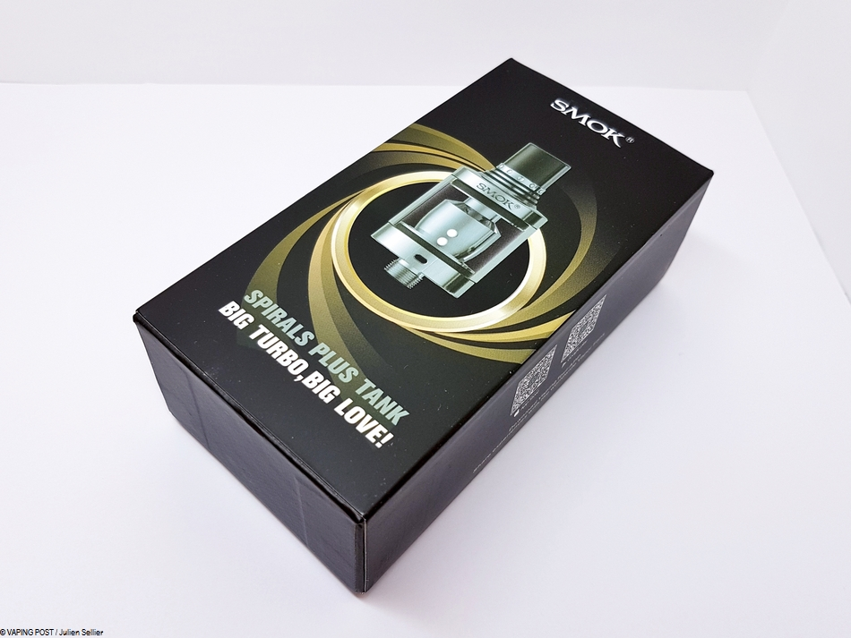 Spirals Plus Tank Smoktech