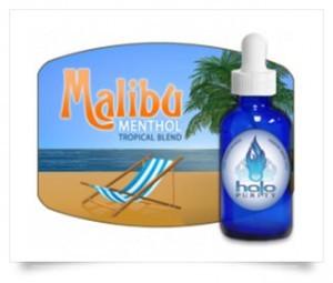 E-liquide Malibu de chez Halo