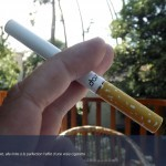 La e-cigarette Lexa a presque la taille d'une vraie cigarette