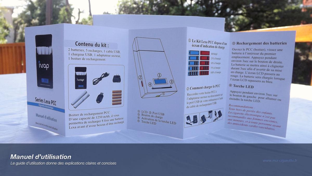 manuel d utilisation vaping post. Black Bedroom Furniture Sets. Home Design Ideas