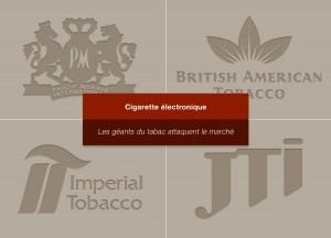 Les géants du tabac parlent vapote