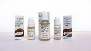 L'emballage des e-liquides Liqua est très professionnel. De quoi satisfaire la clientèle internationale.