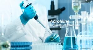 L'acroléine, un composé toxique présent dans la fumée de cigarette, aurait également été découvert dans la vapeur des cigarettes électroniques.