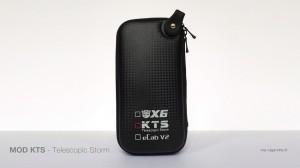 Le coffret du KTS est un peu plus large d'un coffre eGo.