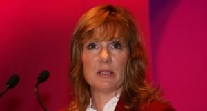 Janice Atkinson, féministe membre du parti anti-européen au Royaume-Uni.