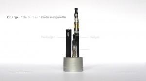 Le chargeur de bureau et de rangement pour cigarette électronique