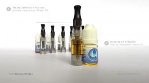 Une fois un e-liquide identifié comme plaisant, vous pouvez le charger dans un clearomizer dernière génération.