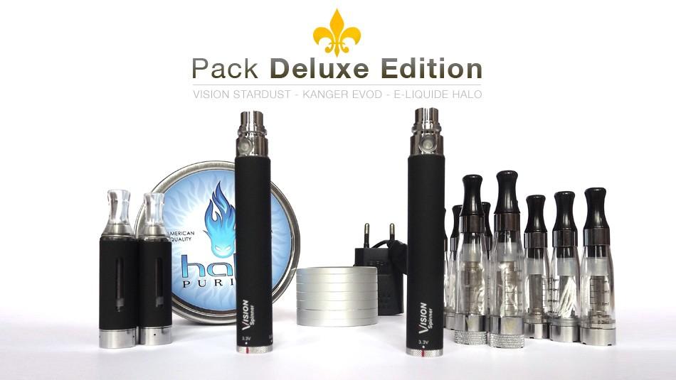 Le pack pour débuter la cigarette électronique dans de bonnes conditions