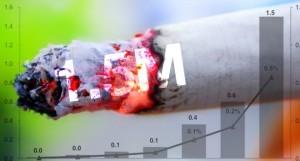 Selon Morgan Stanley, la cigarette électronique a retiré cette année 1,5 milliard de cigarettes de la bouche des fumeurs américains.