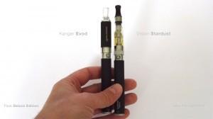 Voici les deux types de cigarettes électroniques que vous allez pouvoir essayer dans le pack Deluxe Edition