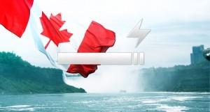 Au Canada, les cigarettes électroniques contenant de la nicotine sont toujours interdites.