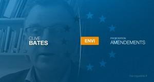 Clives Bates, ancien directeur d'une importante association de prévention du tabagisme au Royaume-Uni, propose ses amendements à la commission ENVI.