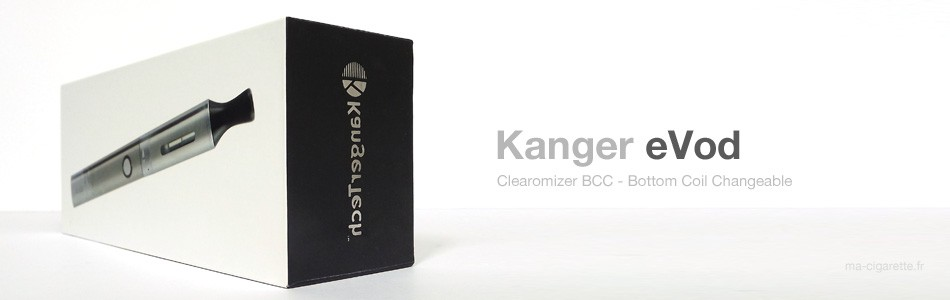 Avec l'eVod, Kangertech a réussi son coup : construire une cigarette électronique simple et performante.