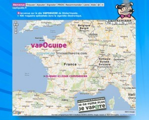 Le Vapoguide référence toutes les boutiques physiques françaises qui sont spécialisées dans la cigarette électronique.