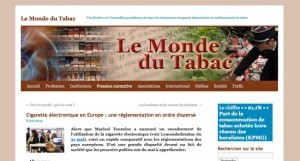 """Cigarette électronique en Europe : une réglementation en ordre dispersé sur """"Le monde du tabac"""""""