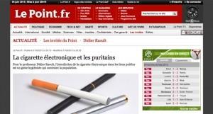 Didier Raoult dénonce également les positions prises par la ministre sur le site du Point.fr
