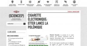 Les propos de Jean-François Etter font l'objet d'un article sur le site du journal Libération.