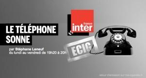 """L'émission de France Inter """"Le téléphone sonne"""" au sujet de la cigarette électronique est malheureusement tombé sur le répondeur."""