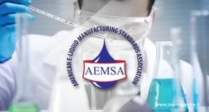 L'Association américaine AEMSA (American E-liquids Manufacturing Standarts Association) tente de définir des standards de fabrication pour les e-liquides.