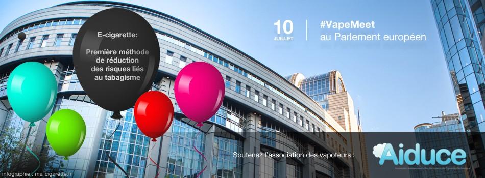Les vapoteurs européens manifestent aujourd'hui à Bruxelles pour défendre la cigarette électronique