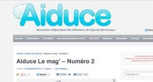 L'AIDUCE vient de sortir le deuxième numéro de son magazine d'information