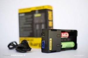 Le pack Vamo V3 est vendu avec deux accus et un chargeur Intellicharger i2.
