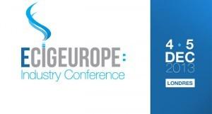 ecig Europe : une série de conférences sur deux jours destinées aux professionnels de l'e-cigarette.