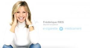 Frédérique RIES, députée belge au Parlement européen, est contre une e-cigarette médicament