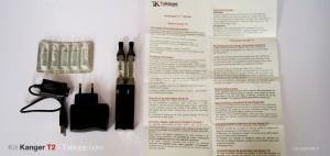 La notice contenue dans le pack est appréciable quand on découvre la cigarette électronique pour la première fois.