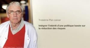 Jean-Paul Vernant recommande à la Ministre Marisol Touraine d'intégrer la cigarette électronique dans sa politique de lutte contre le tabagisme.