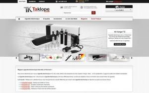 taklope.com le gros site français de vente de cigarettes électroniques