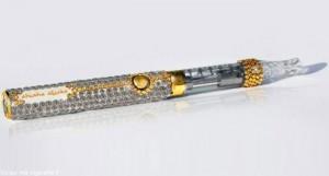 La cigarette électronique Sisha Sticks Sofia est sans doute l'ecig la plus chère au monde.