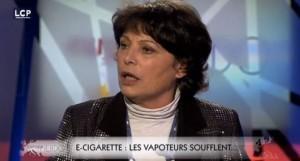 """""""LCP Dieu est un fumeur de.... cigarettes électroniques"""" analyse du phénomène avec Michèle Rivasi ( Les Verts ) et Françoise Grossetête ( UMP ) dans Europe Hebdo le 17 octobre sur LCP"""