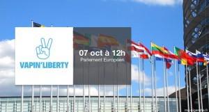 RDV devant le Parlement européen (Strasbourg) à 12h pour défendre notre liberté de vapoter