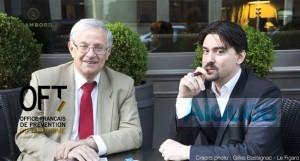 Le professeur Bertrand Dautzenberg et Brice Lepoutre s'opposent à une médicalisation de la cigarette électronique