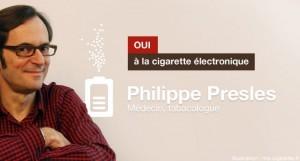 Philippe Presles, médecin tabacologue, défend les bienfaits de la cigarette électronique pour les fumeurs
