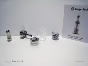 Les différentes parties du Protank 3