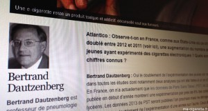 """""""Cigarette électronique : les ados français sont devenus accros au vapotage en un temps record"""" sur Atlantico.fr"""