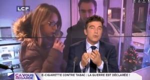 E-cigarette contre tabac : la guerre est déclarée ! sur la chaine LCP le 25 octobre dernier
