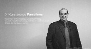 Konstantinos Farsalinos est le chercheur qui a publié le plus de recherches au monde (du moins jusqu'en 2014) sur la cigarette électronique.