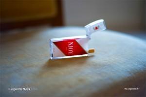 Les couleurs, la forme ... tout est là pour rassurer le fumeur